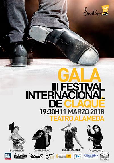 Cartel Gala III Festival Internacional de Claqué
