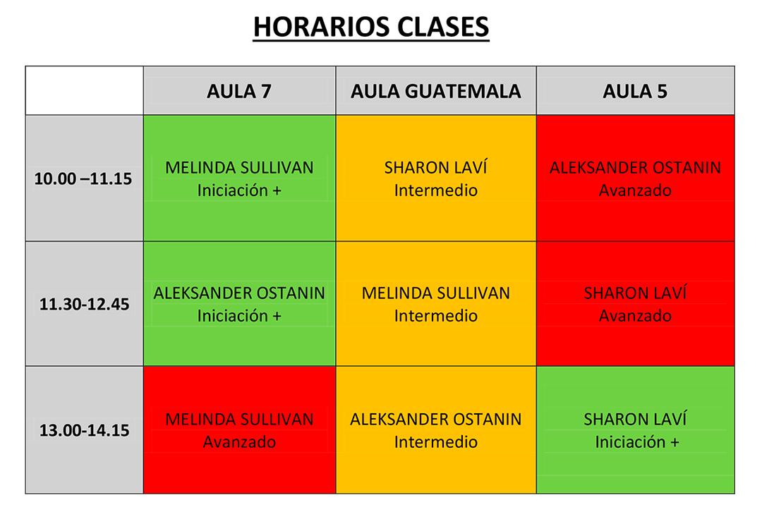 Horarios Suntap Festival 2019 Sevilla Claqué